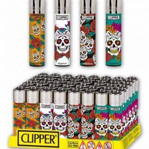 MECHERO CLIPPER MEXICAN SKULLS