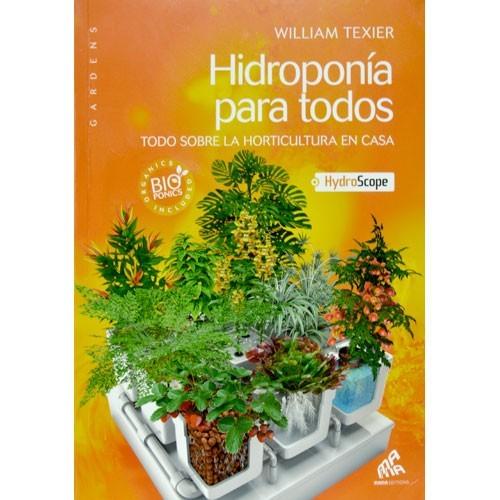 LIBRO ESPAÑOL HIDROPONÍA PARA TODOS